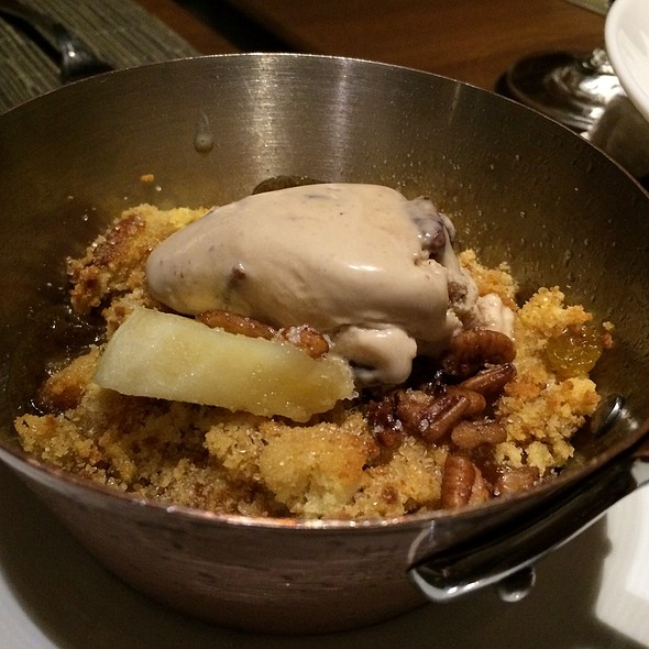 Pecan Toffee Pudding - Tom Colicchio's Heritage Steaks - Mirage Hotel & Casino, Las Vegas, NV