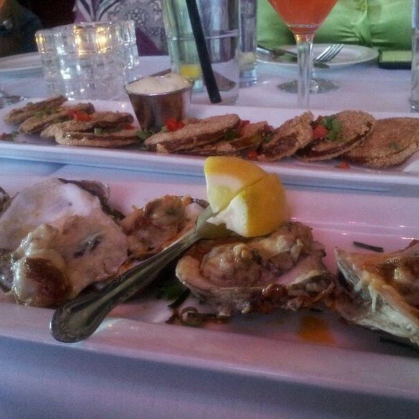 Charbroiled Oysters - Rhythm Kitchen Seafood & Steaks, Las Vegas, NV