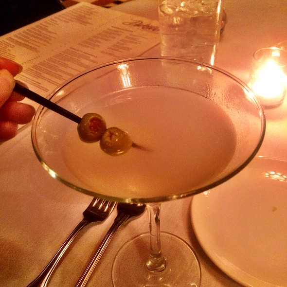 Dirty Martini - Dakota's Steakhouse, Dallas, TX