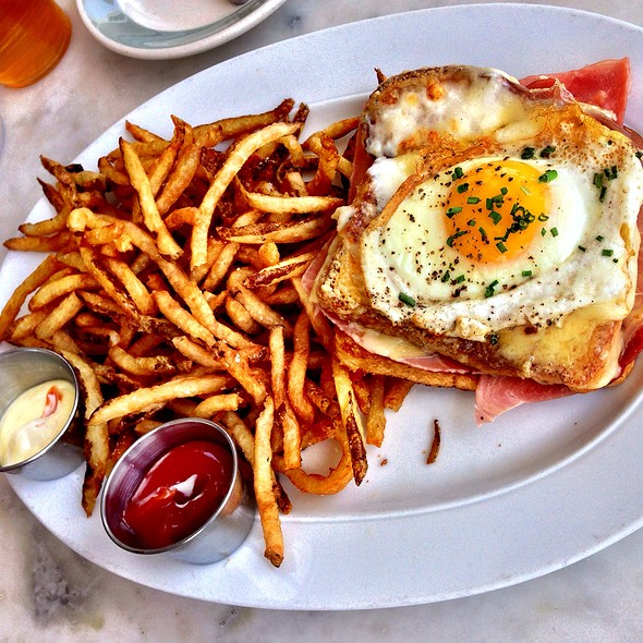 Croque Madame - Brasserie 19, Houston, TX