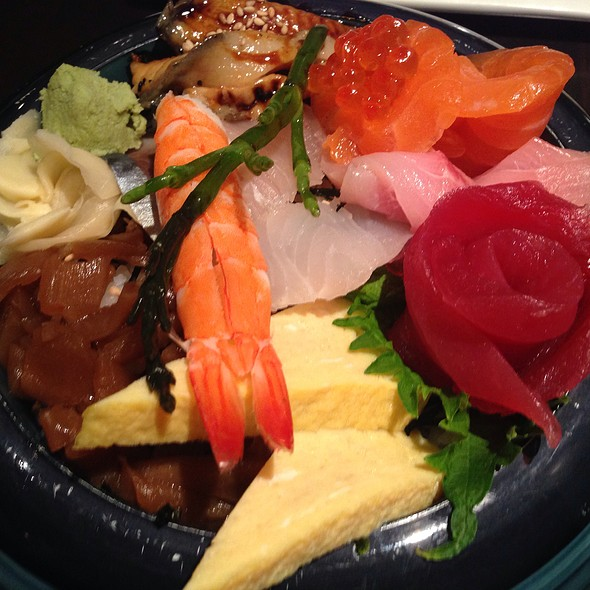 Chirashi - Japango Sushi Restaurant, Boulder, CO