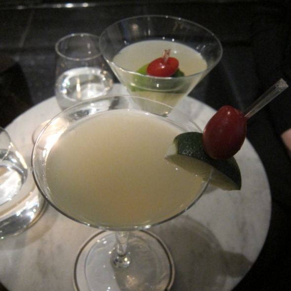 Cilantro Martini - The Bar Room at The Modern, New York, NY