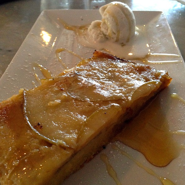 Pear Tart - Joey's Italian Cafe, Miami, FL