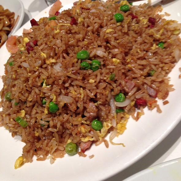 Shrimp Fried Rice - Dragon Noodle Co. - Monte Carlo, Las Vegas, NV