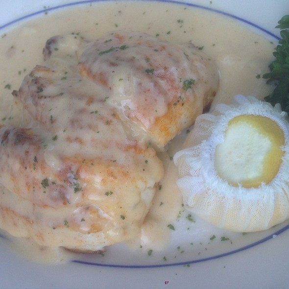 Stuffed Chesapeake Flounder - The Wharf, Alexandria, VA