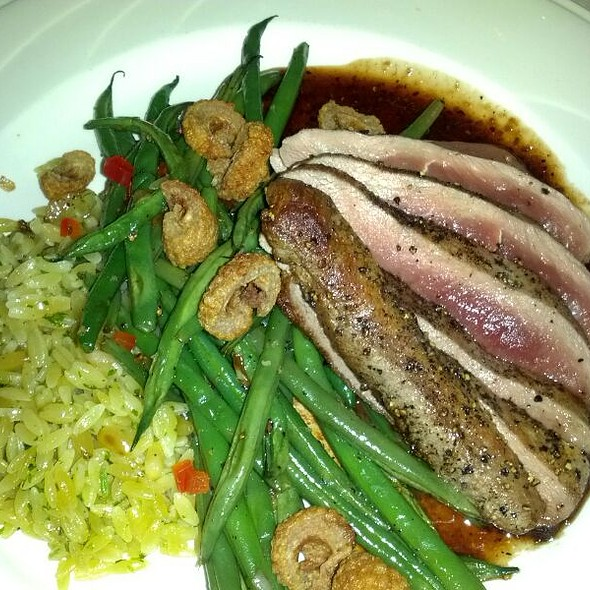 Duck Breast - Paseo Grill, Oklahoma City, OK