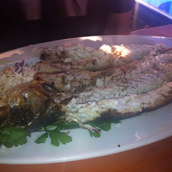 Grilled Whole fish - Greek Taverna - Edgewater, Edgewater, NJ