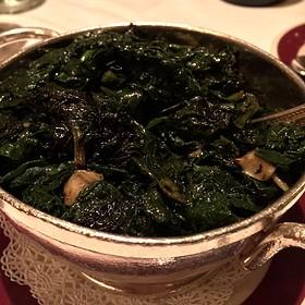 Sautéed Spinach - Bones, Atlanta, GA