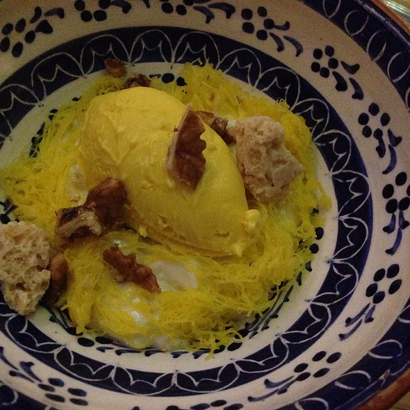 Pumpkin Rice Pudding - Aldea, New York, NY