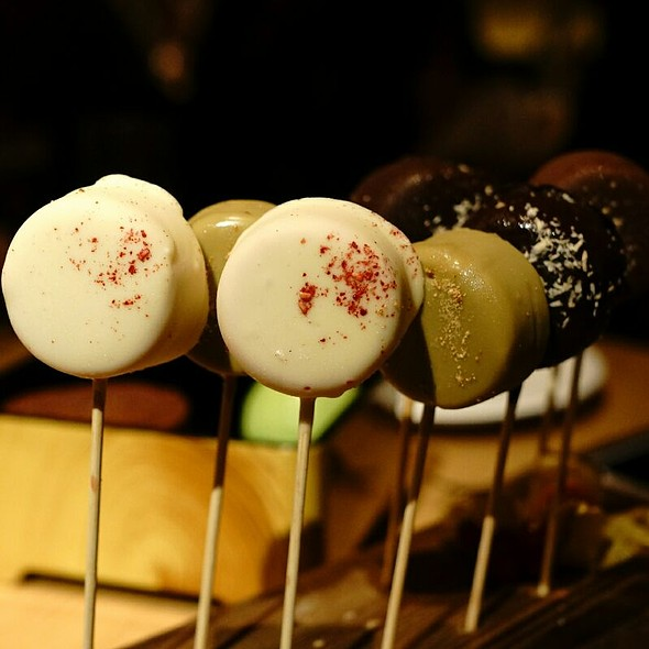 Assorted Ice Cream Lollipops - Nobu - Berkeley Street, London