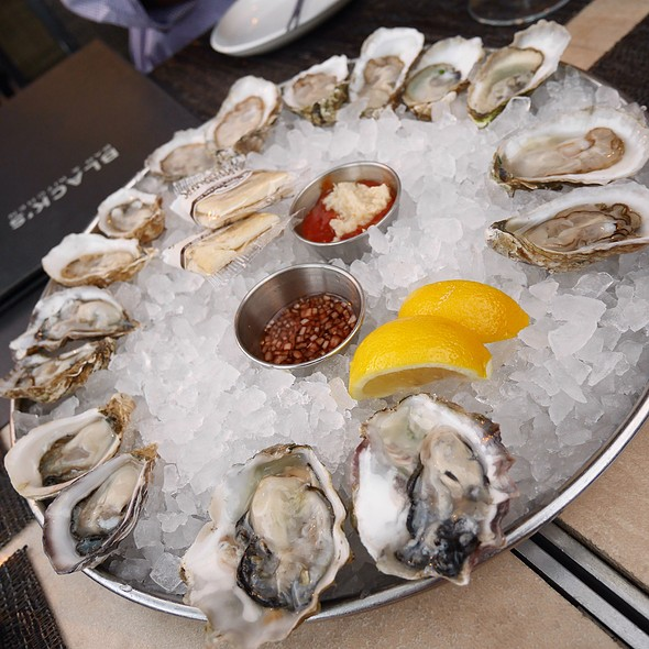 Oysters On The Halfshell - Black's Bar & Kitchen, Bethesda, MD