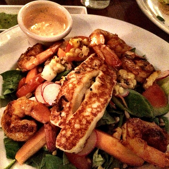 shrimp salad - El Alma Cafe y Cantina, Austin, TX