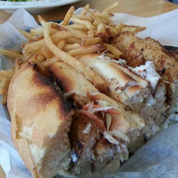 Catfish Po'boy - Blue Fish Grill, Flemington, NJ