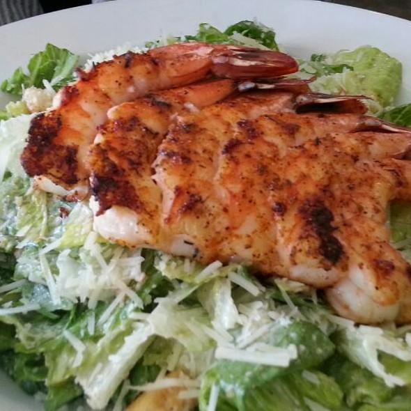 Grilled Shrimp Caesar Salad - Blue Fish Grill, Flemington, NJ