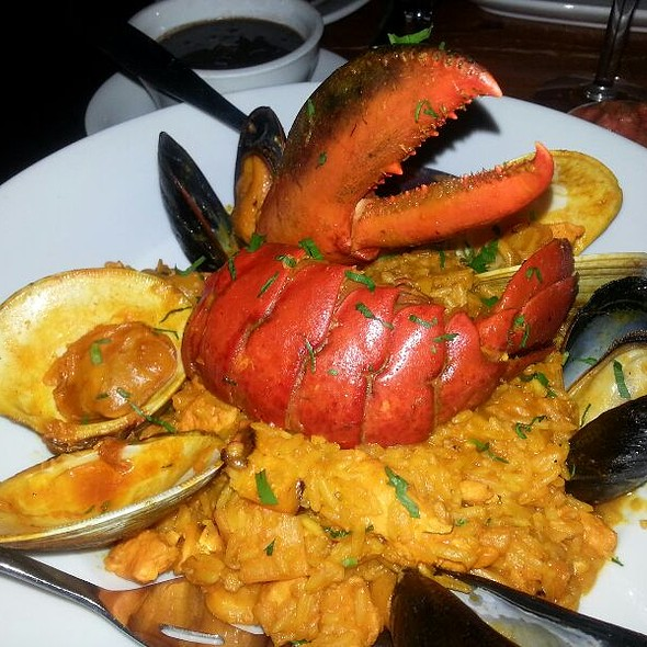 Paella Valenciana, assorted Seafood, chicken and Chorizo with saffron rice - Mixto, Philadelphia, PA