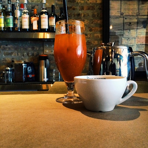 Bloody Mary And Coffee - The Bristol, Chicago, IL
