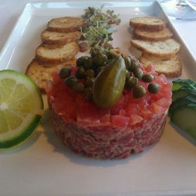 steak tartare - Canlis, Seattle, WA
