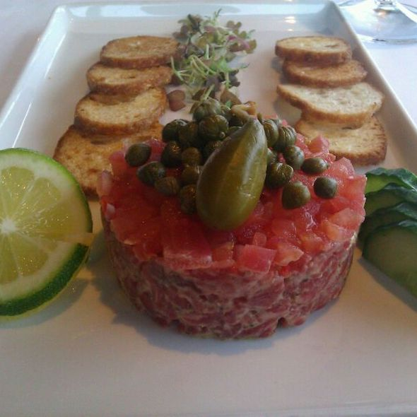 steak tartare - Canlis, Seattle, WA