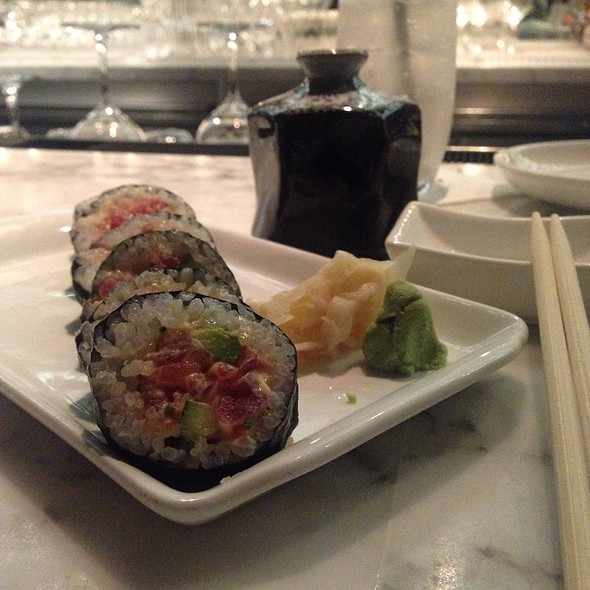 Seafood Tartar Roll - Chaya Downtown, Los Angeles, CA