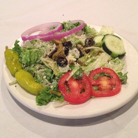 House Salad With Gorgonzola Dressing - The Little Village - Airline, Baton Rouge, LA