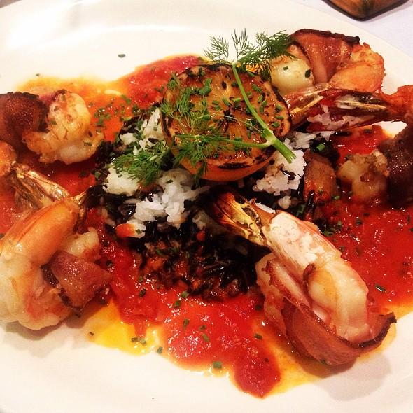 Bacon Wrapped Shrimp - Statler Grill, New York, NY