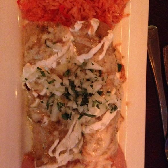 Enchiladas Suiza - Sandbar Mexican Restaurant, Santa Barbara, CA