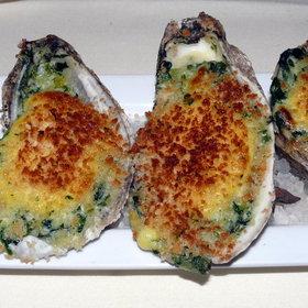 Oysters Rockerfeller  - Halls Chophouse, Charleston, SC