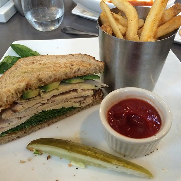 Turkey Avocado Sandwich - Bistro 300 - Hyatt Regency Baltimore, Baltimore, MD