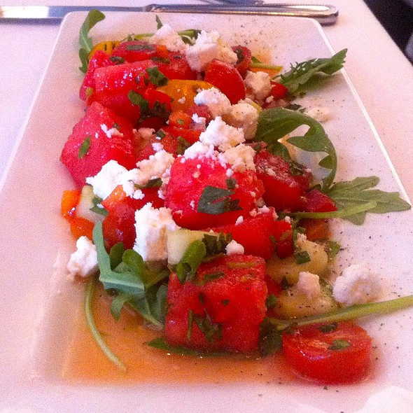 Arugula, Watermelon Salad with Feta - The Capital Grille - Costa Mesa, Costa Mesa, CA