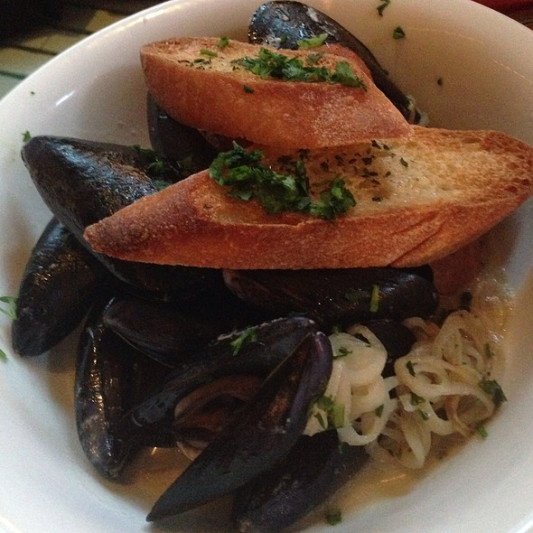 Mussels With Andouille Sausage - Ironside Fish & Oyster, San Diego, CA