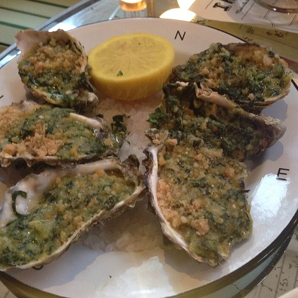 Oysters Rockefeller - Ironside Fish & Oyster, San Diego, CA
