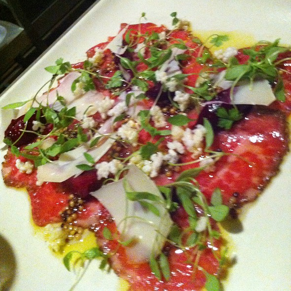 Prime Beef Carpaccio - Floataway Cafe, Atlanta, GA