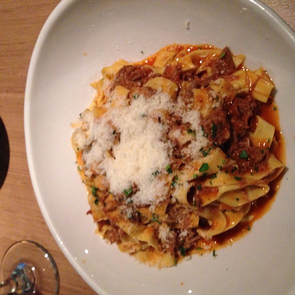 Tagliatelle With Lamb Ragu - Bencotto Italian Kitchen, San Diego, CA