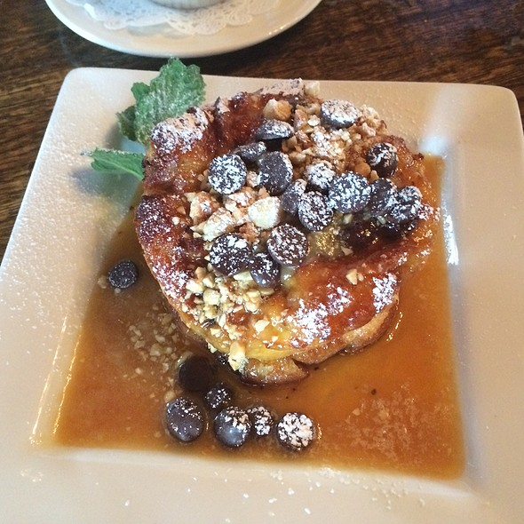 Hazelnut Chocolate Bread Pudding - Chateau Morrisette, Floyd, VA