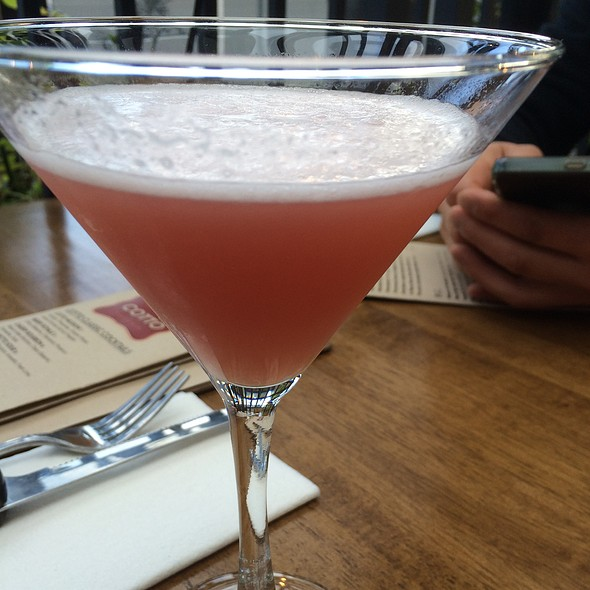 Raspberry Martini - Cotto Enoteca Pizzeria, Burnaby, BC
