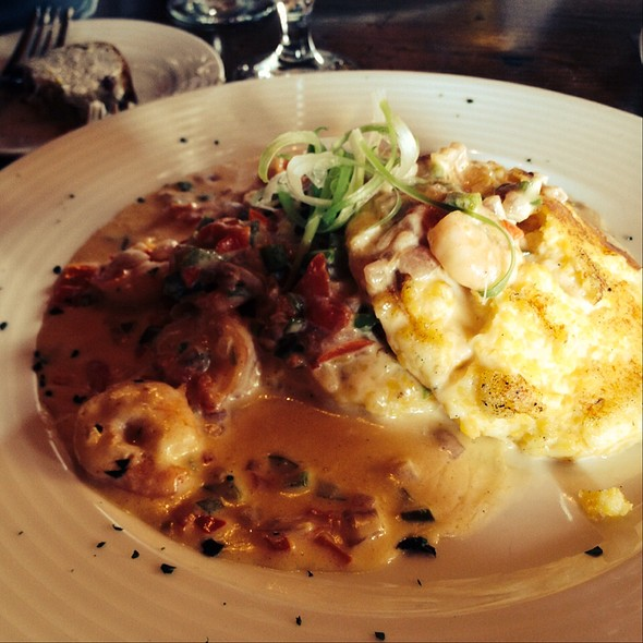 Shrimp and Grits - Chateau Morrisette, Floyd, VA