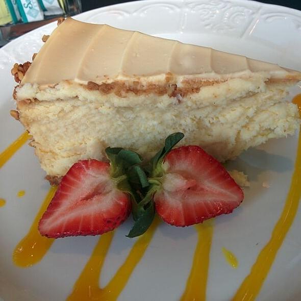 Creamy Cheesecake  - Dempsey's Steakhouse at Saddlebrook Resort, Wesley Chapel, FL