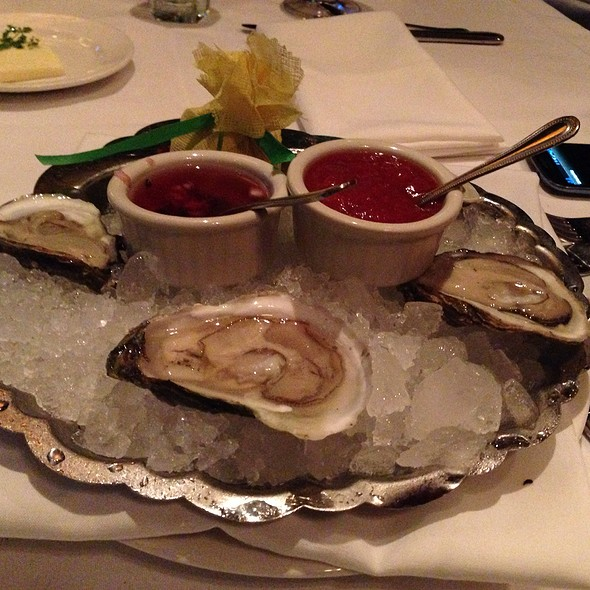 Oyster - The Capital Grille - Boston, Boston, MA