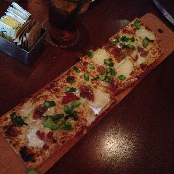 Prosciutto Brie And Asparagus Flatbread - Seasons 52 - Cherry Hill, Cherry Hill, NJ