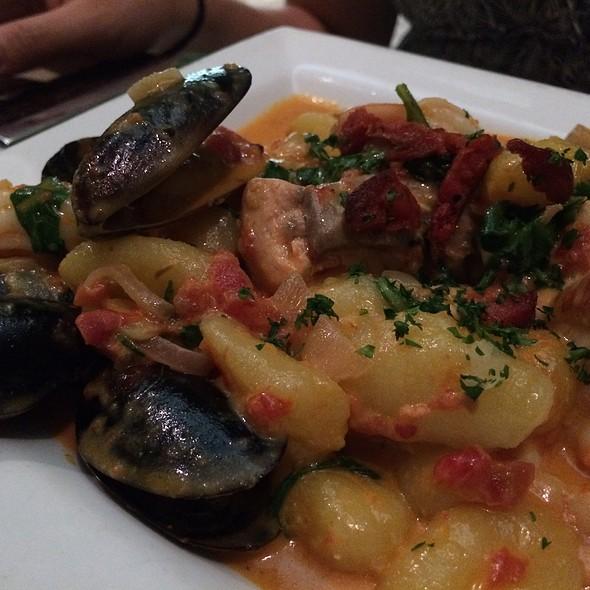 Seafood Gnocchi - Angelique Euro Cafe, Coral Gables, FL