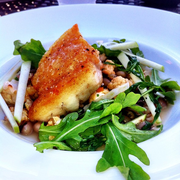 Pan Roasted Grouper - BLU Restaurant & Bar, Folly Beach, SC