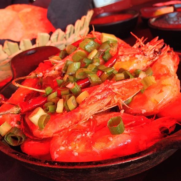 Peel & Eat Shrimp 'Cucarachas' - SOL Cocina, Scottsdale, AZ