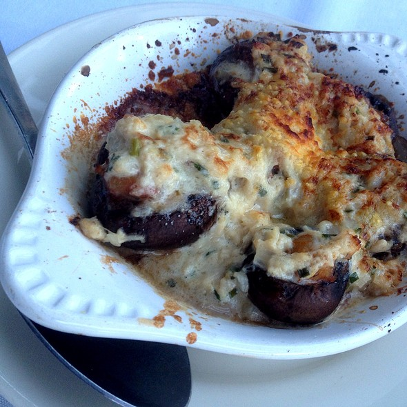 Stuffed Mushrooms - LG's Prime Steakhouse - Palm Springs, Palm Springs, CA