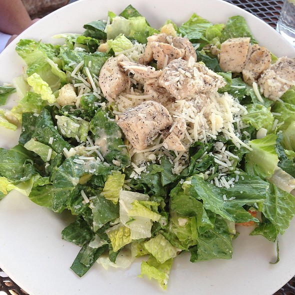 Chicken Caesar Salad - Chocolate Avenue Grill, Hershey, PA