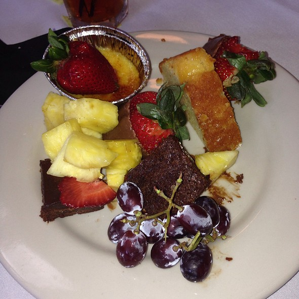 My Fruit Plate - Owen Brennan's Restaurant, Memphis, TN