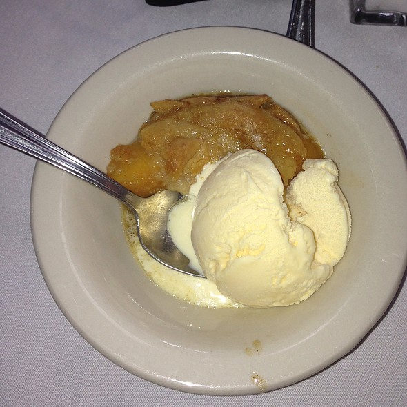 Peach Cobbler - Owen Brennan's Restaurant, Memphis, TN