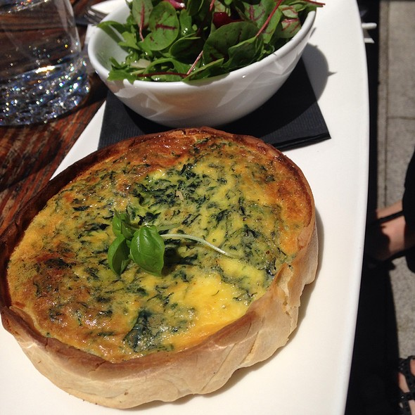 Quiche - Origin Restaurant, Toronto, ON