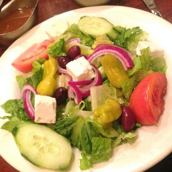 Greek Salad - Jimmy's Charhouse Elk Grove, Elk Grove, IL