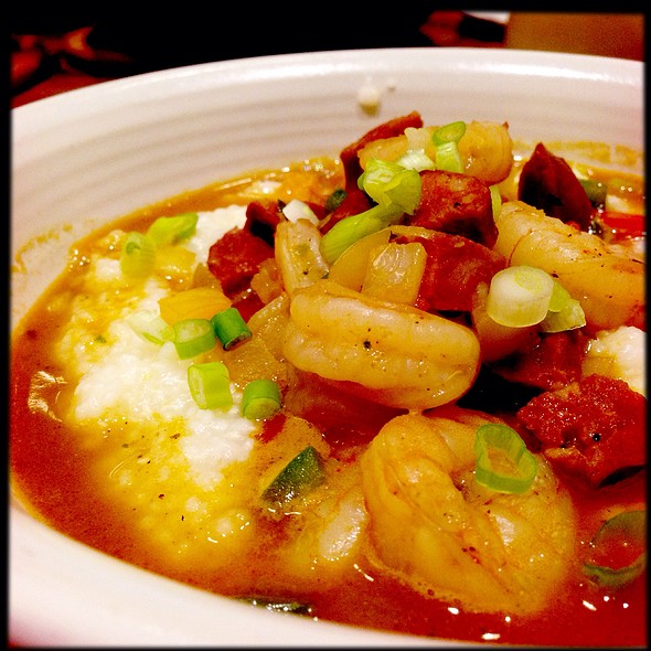 Georgia White Shrimp & Grits - Sway - Hyatt Regency Atlanta, Atlanta, GA