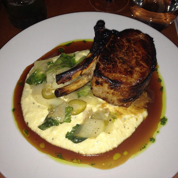 Pork Chop - Benchmark Restaurant, Brooklyn, NY